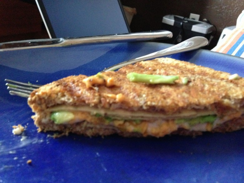 Avocado Jalapeno Grilled Cheese Sandwich